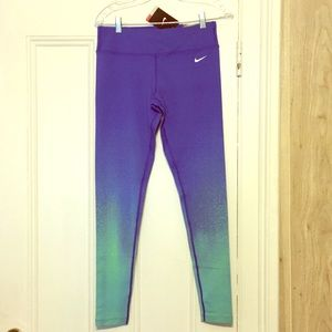 Nike Forever Gradient Running Tights NWT